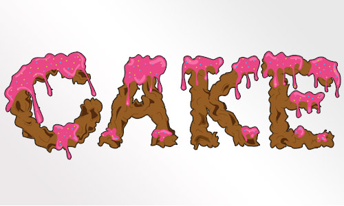 Dripping-Icing-Cake-Font