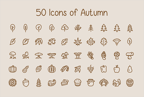 50-icons-of-autumn-preview
