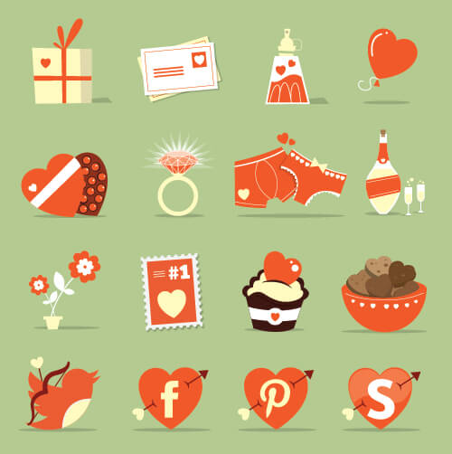St.-Valentine's-Day-Icon-Set