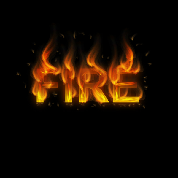 How to Create a Fire Text Effect in Illustrator