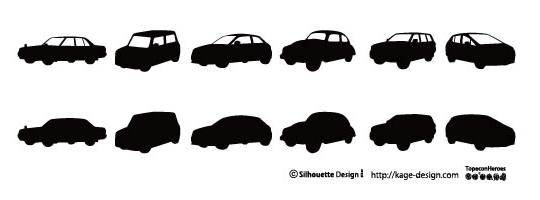 フリーの車のシルエット素材12選