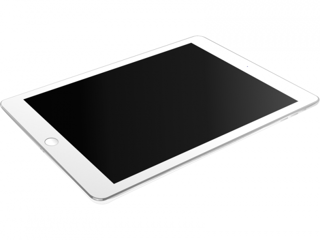 White iPad Air Sketch Resource