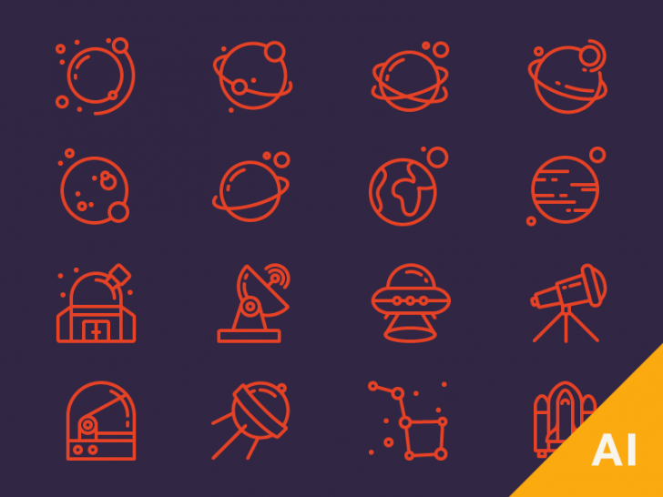 free-space-icons