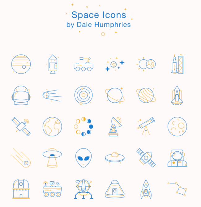 space-icons
