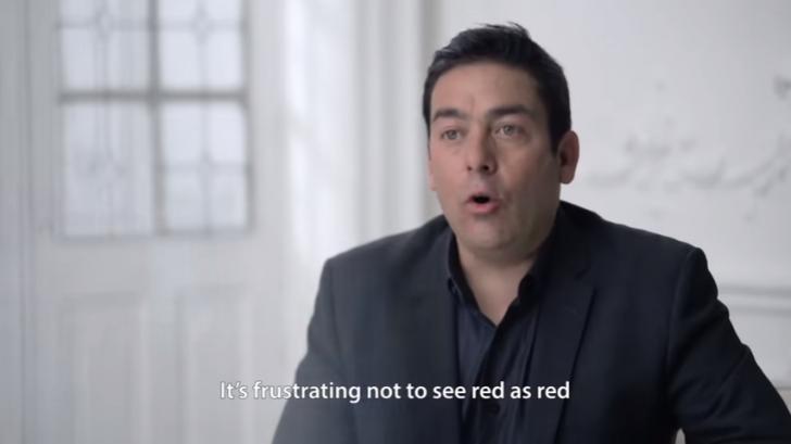 赤色が赤色として見えないことにフラストレーションを感じるよ。