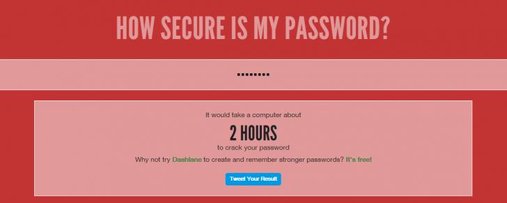 危ないパスワード