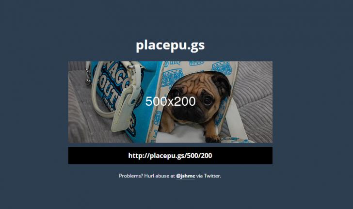パグの顔限定のダミー写真生成ツール