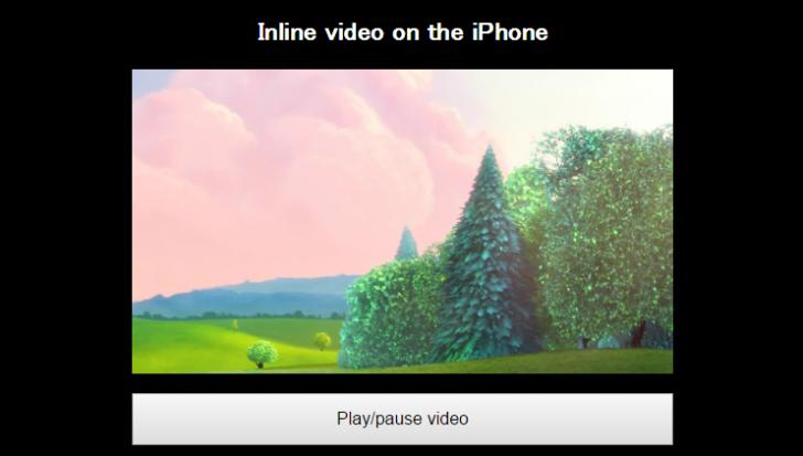 スマホで動画を埋め込み表示することができるJSライブラリ