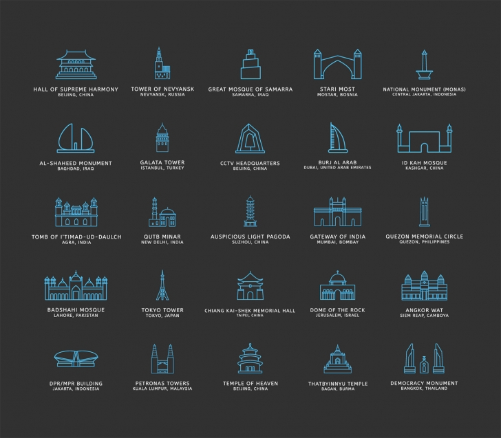 Touristic Icons (100 Icons, PNG, SVG)3