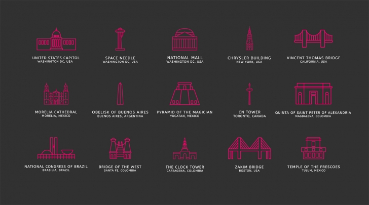 Touristic Icons (100 Icons, PNG, SVG)1