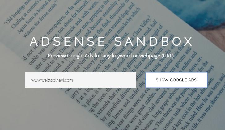 ADSENSE SANDBOX