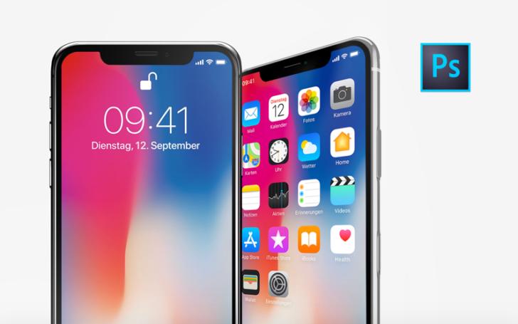 iPhone X – 10 Free PSD Mockups(PSD/無料)
